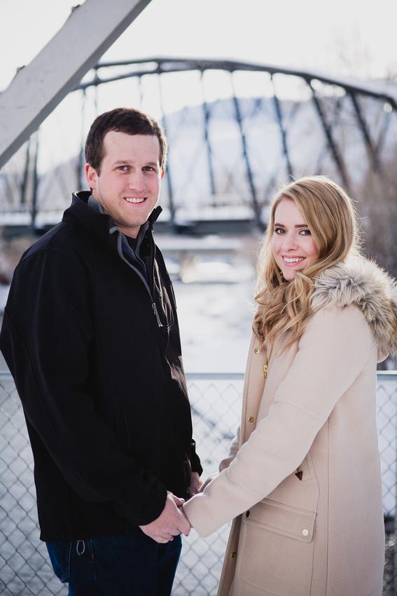 Chase & Krista Engagements Photo - Sun Valley, Idaho
