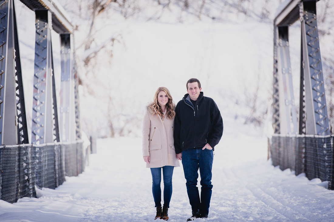 Chase & Krista Engagements Photo - Sun Valley, Idaho