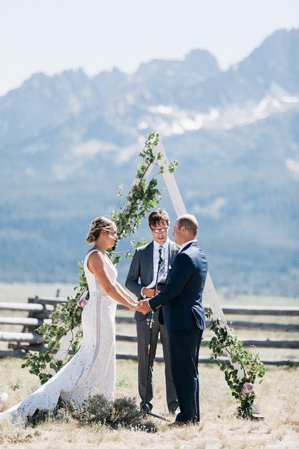 Taylor & Anna Stanley, Idaho Wedding