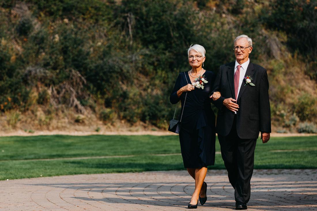 David & Teresa Wedding   Trail Creek Cabin   Sun Valley, Idaho