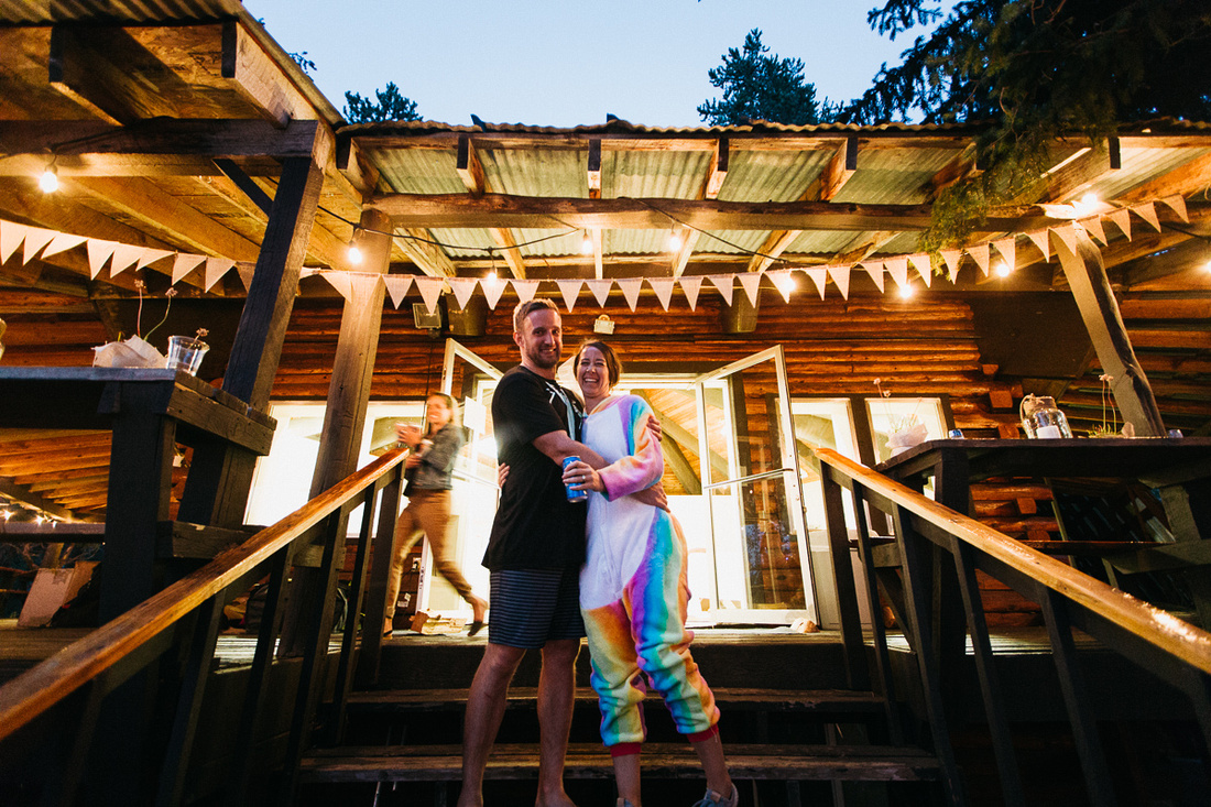 Jayce & Katie's DIY wedding at the Faith Camp in Donnelly, Idaho