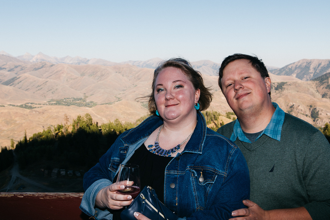Perry & Alana Wedding Welcome Dinner | The Roundhouse & River Run | Ketchum, Idaho