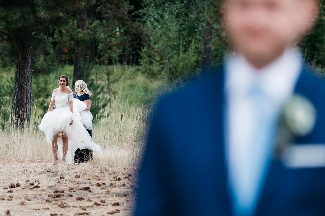 Brian & Kiera Wedding at Blackhawk on the River in McCall, Idaho