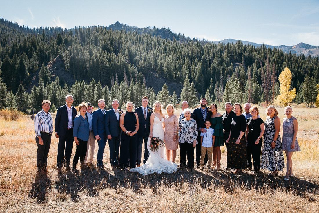 Tyler & Jenn Ketchum, Idaho Destination Wedding