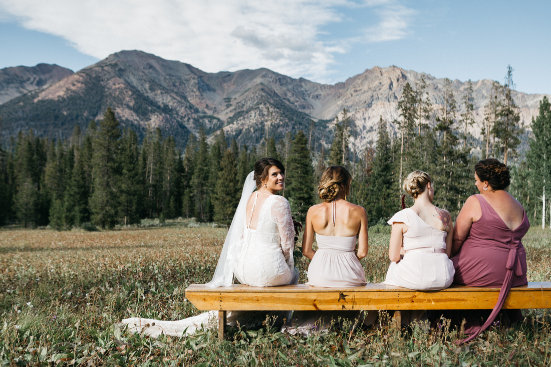 Sun Valley, Idaho Destination Wedding - 4H Camp