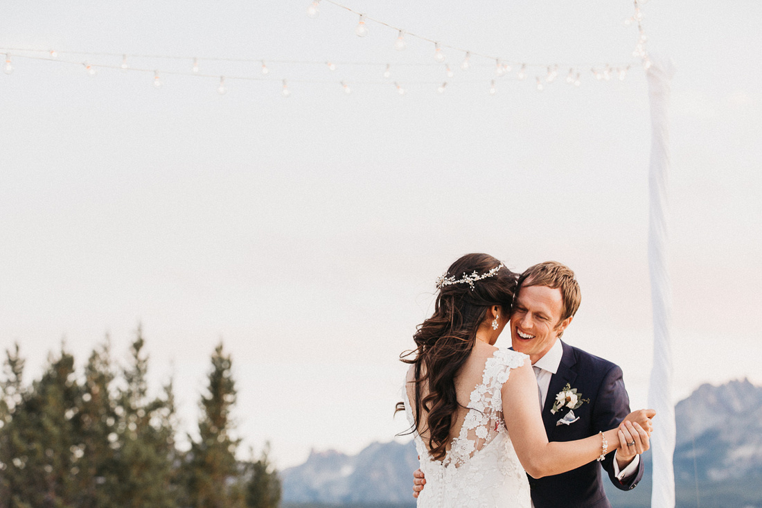 Tim & Anna Destination Wedding in Stanley, Idaho at the Stanley Park