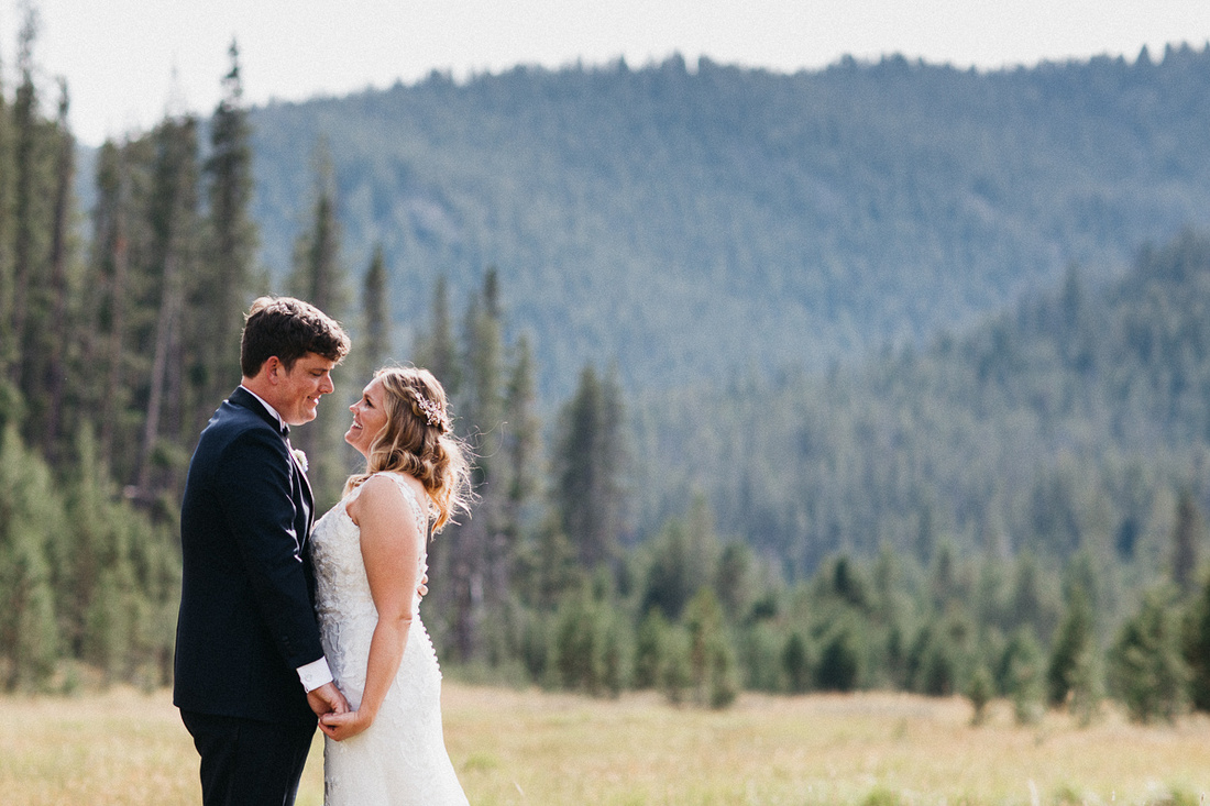 Tom & Devon Destination Wedding at Galena Lodge near Sun Valley, Idaho