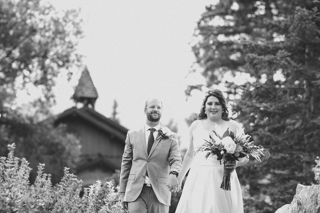 Ian & Katie's wedding reveal at the Sun Valley Inn in Idaho