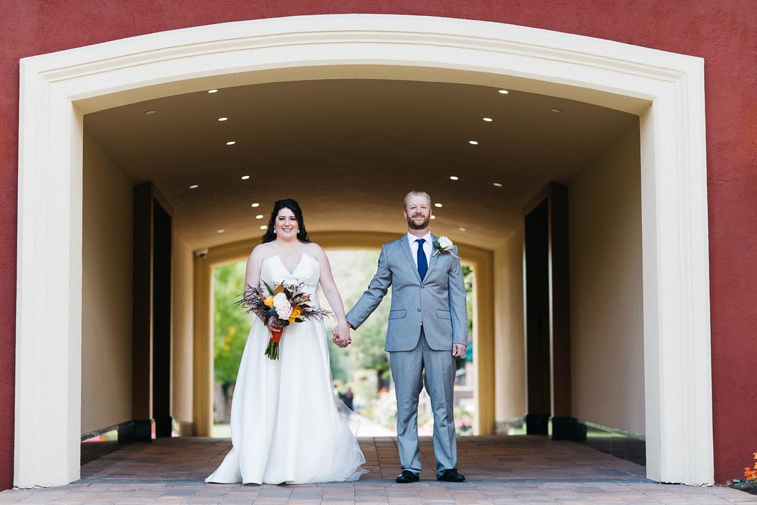 Ian & Katie's wedding reveal at the Sun Valley Inn in Idaho