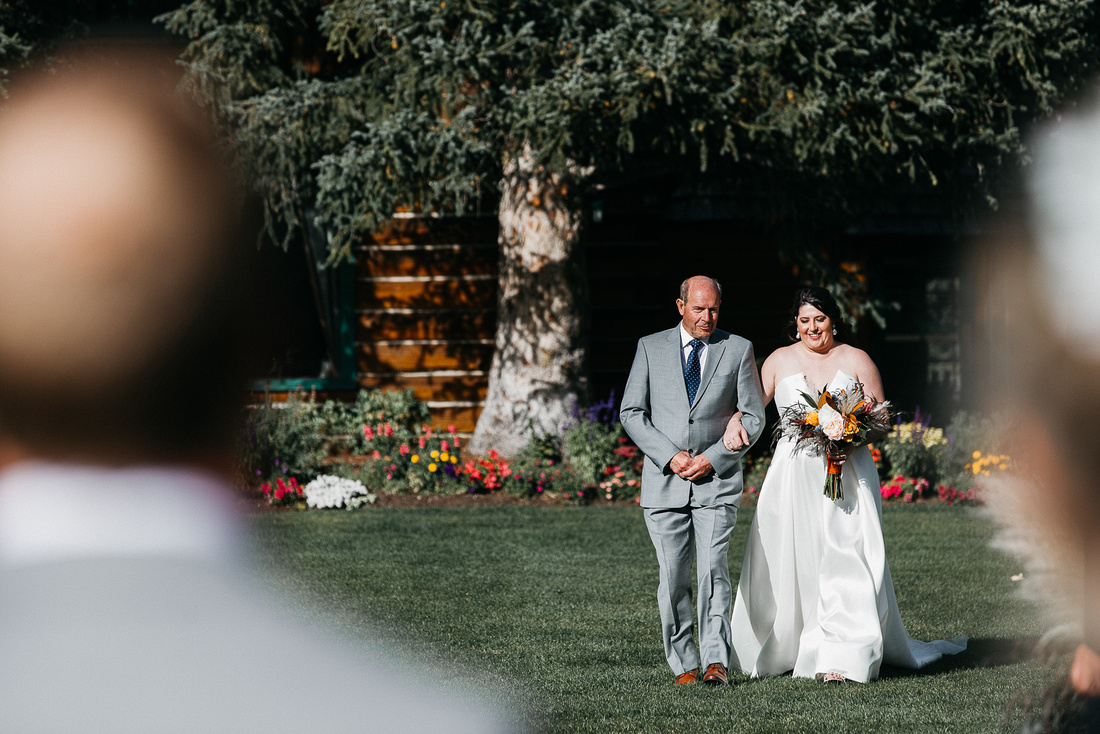 Ian & Katie's destination wedding at Trail Creek Cabin in Sun Valley, Idaho