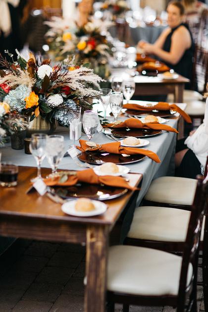 Trail Creek Cabin wedding details in Sun Valley, Idaho