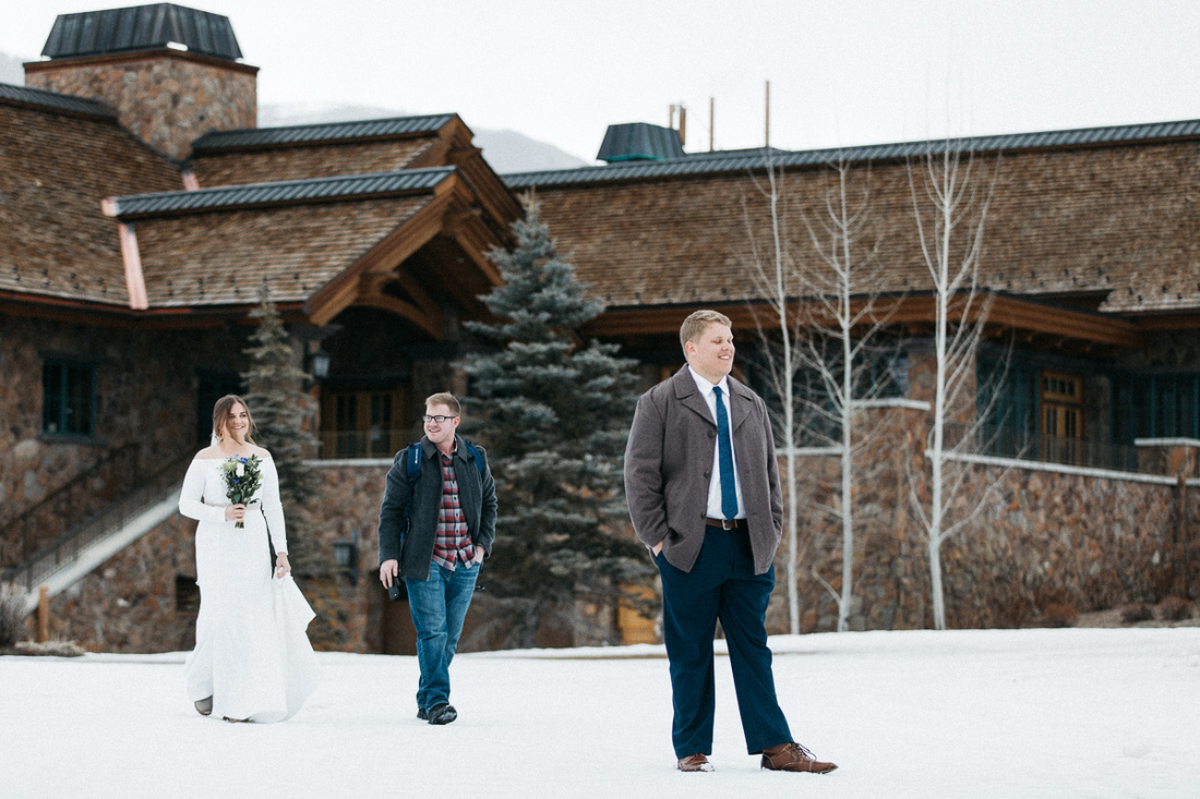 Jack & Tristan Elopement in Sun Valley, Idaho