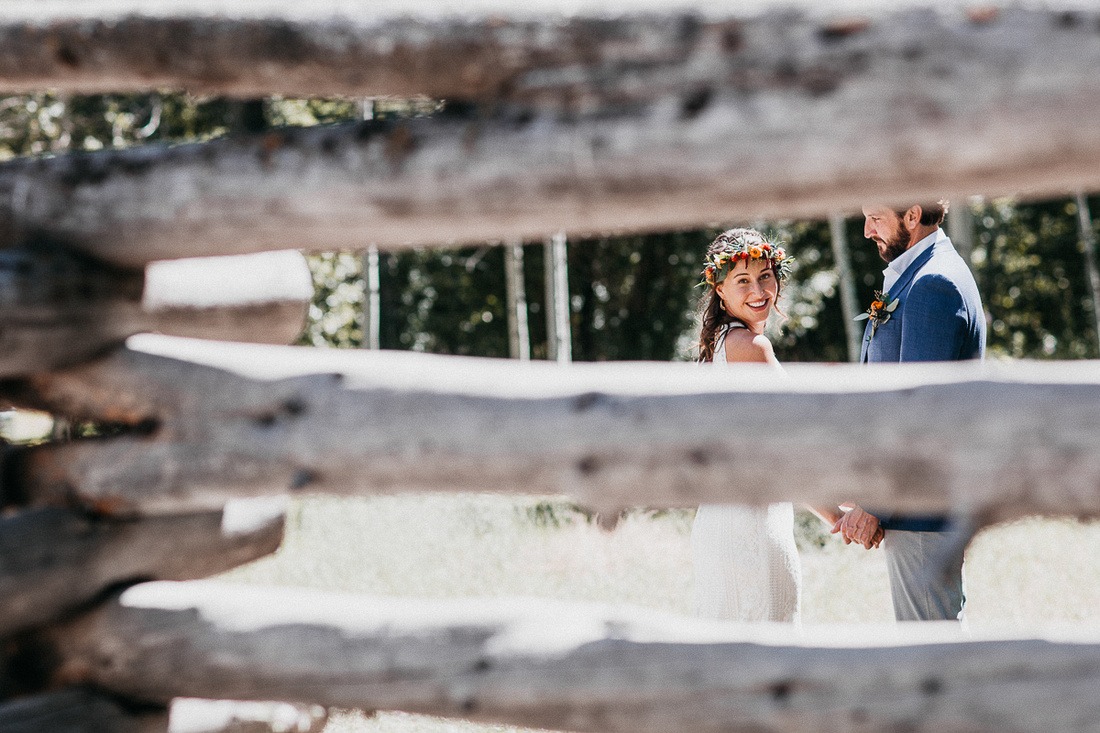 Sun Valley, Idaho Destination Wedding - Forest Service Park & Limelight Hotel