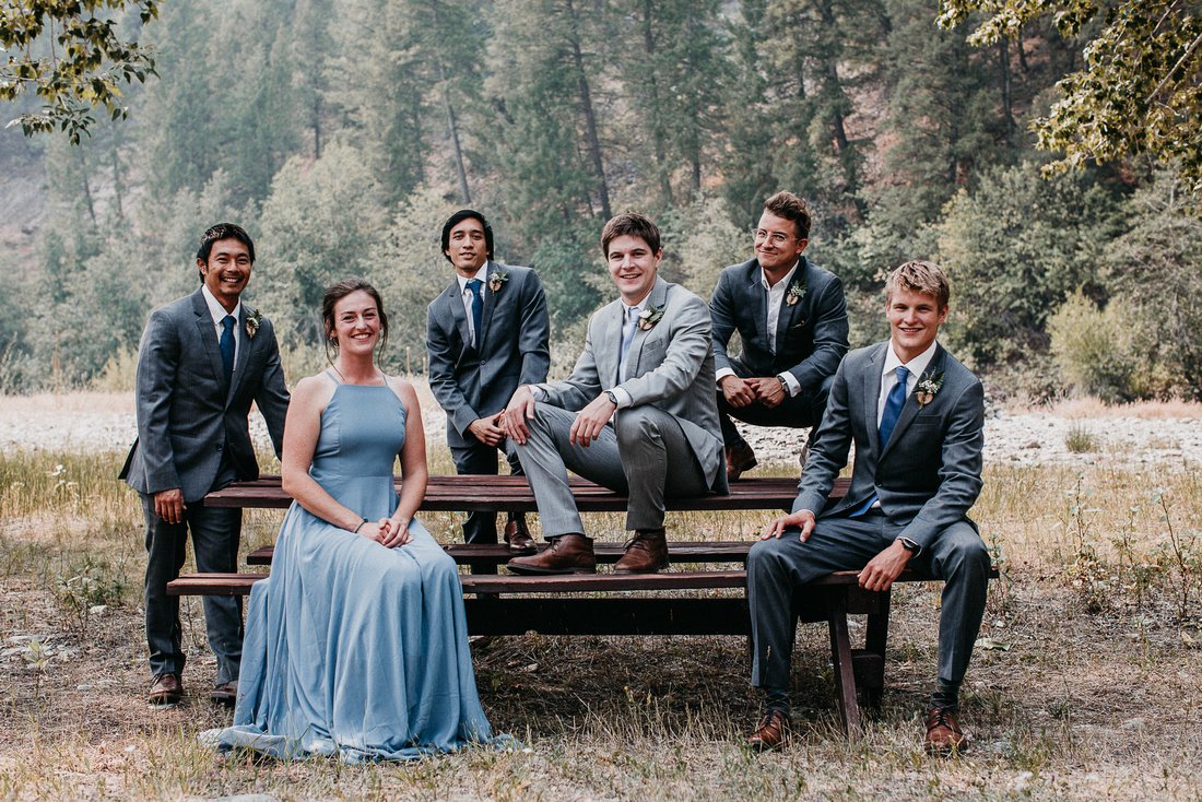 Conner & Ashley Sun Valley, Idaho Wedding | Fly Fishing Wedding