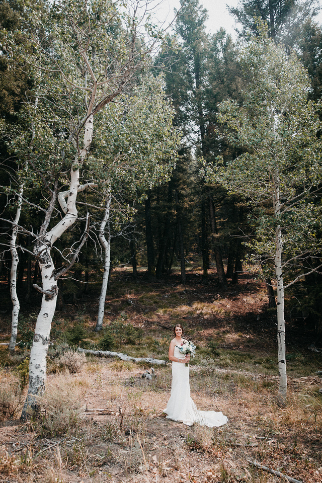 Conner & Ashley Sun Valley, Idaho Wedding | Bride