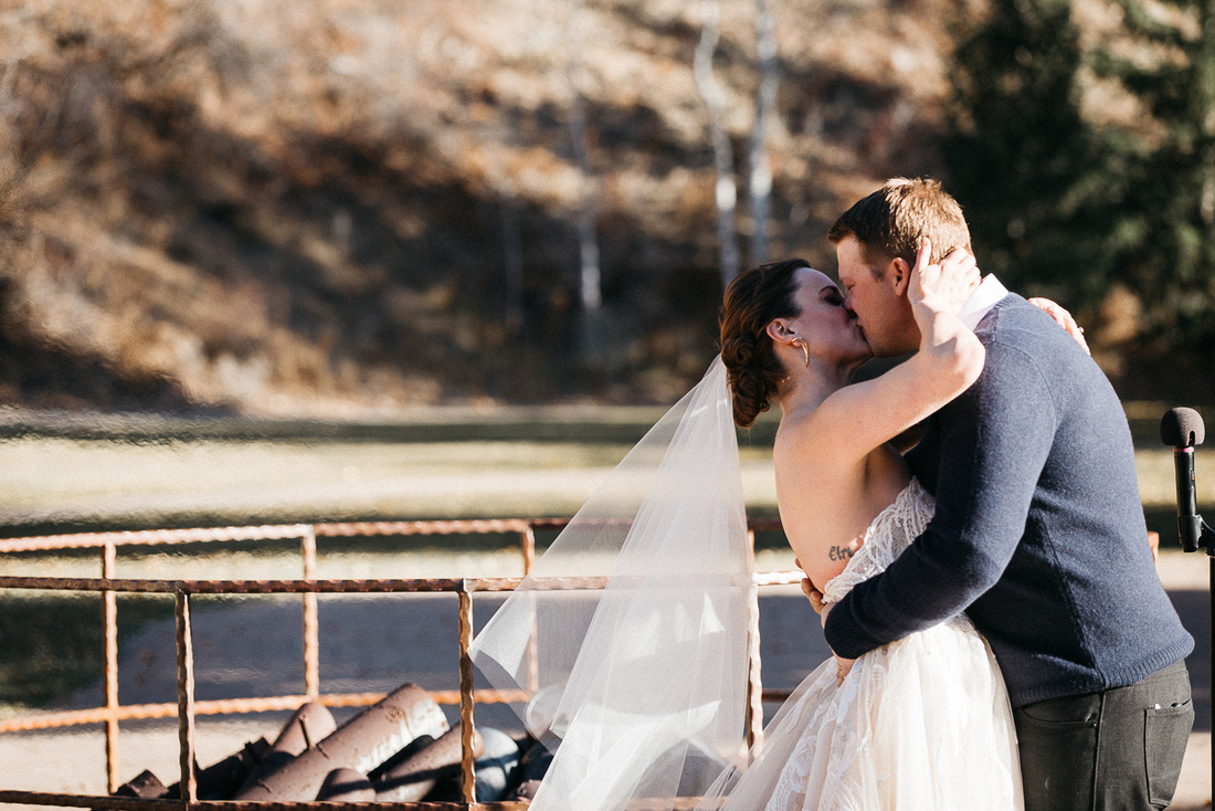 Alex & Kate Sun Valley, Idaho Wedding | Trail Creek Cabin