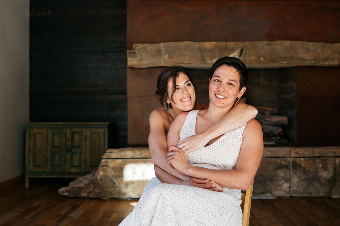 Jen & Sarah Wedding - High West Distillery - Ray J. Gadd Photography